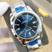 Rolex new fashion men's and women's steel band watches