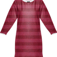 Glitter&Stripes Sweatshirt Dress created by Octavia Soldani | Print All Over Me