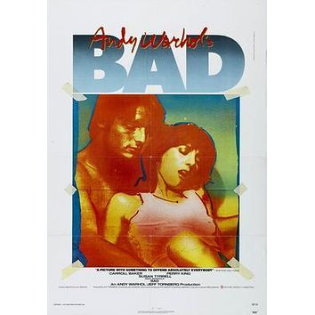 Bad Andy Warhol Movie Poster Puzzle 300 Piece Jigsaw Puzzle
