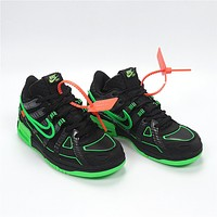 OW x Nike Air Rubber Dunk CU6015-001 Size 36-45