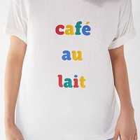 Future State Cafe Au Lait Tee   Urban Outfitters