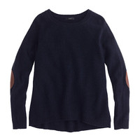 Elbow-patch sweater - sweaters - Women's new arrivals - J.Crew