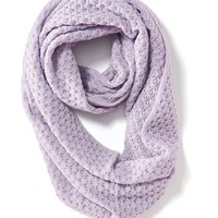 Old Navy Womens Open Weave Infinity Scarf Size One Size - Lavender Purple