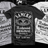 Men of Mayhem - SAMCRO - Sons of Anarchy - tee shirt