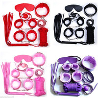 8 pcs Adult Restraint Fetish Bondage Kit BDSM