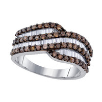 Diamond Fashion Ring in Sterling Silver 1.03 ctw