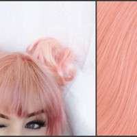 PEACH PASTEL Semi-Permanent Vegan Hair Dye 8 oz.