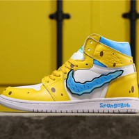 SpongeBob SquarePants x Air Jordan 1 Legacy 312 NRG - Best Online Sale
