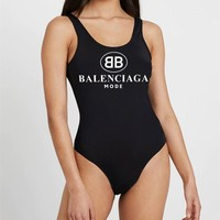 Balenciaga One-Piece Swimsuit