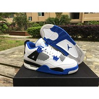 Air Jordan 4 Retro BG Motorsport Shoes 36-47