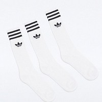 Adidas Socks in White - Urban Outfitters
