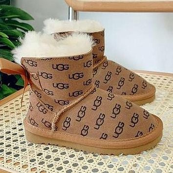 UGG Child Girls Boys shoes Children Boots Kids Fashion Casual Sneakers Sport Shoes