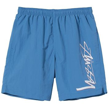 Smooth Stock Water Short Blue