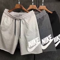 shosouvenir NIKE Print Side Men Sports Running Shorts