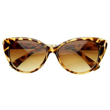 Trendy Retro Cat Eye Chic 1950's Fashion Sunglasses 8447