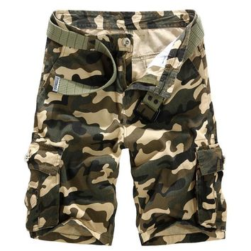 Camouflage Summer Pants Men Casual Shorts [6541431427]