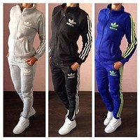 Adidas Sports / add / thick / cotton / suit woman
