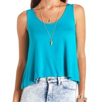 Bow-Back Swing Tank Top by Charlotte Russe
