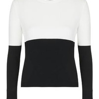 Clean Colour Block Top - Monochrome
