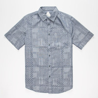 Altamont Americana Mens Shirt Royal  In Sizes