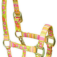 Bouquet High Fashion Horse Halter - Made in the USA at RedHauteHorse.com