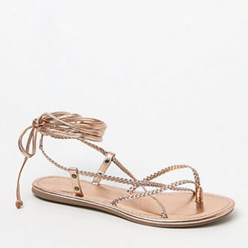 Me To We Braided Lace-Up Gladiator Sandals at PacSun.com