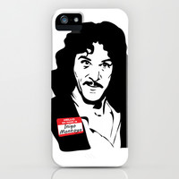 Hello, My Name is Inigo Montoya iPhone & iPod Case by Rich Anderson