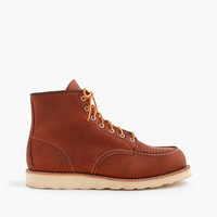 "J.Crew Mens Red Wing 6"" Moc-Toe 875 Boots"