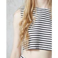 Hearts and Bows Anna Stripe Co Ord Top