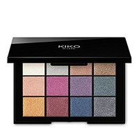 KIKO MILANO - Blendable Cult Eyeshadow Palette with 12 Sophisticated Sparkle Shades