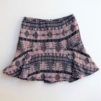 Anthropologie Greylin Crysta Flare Skirt XS NWT
