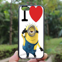 Despicable minion,iphone 5s case,iphone 4 case,iPhone4s case, iphone 5 case,iphone 5c case,Gift,Personalized,water proof