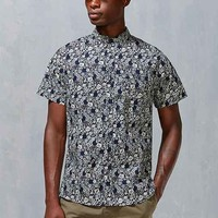 Native Youth Floral Button-Down Shirt
