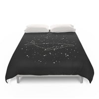 Society6 Whale Constellation Duvet Covers