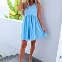 Beyond Basic Dress: Baby Blue