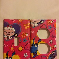 Doc Mcstuffins Personalize Light Switch and/or Outlet Covers
