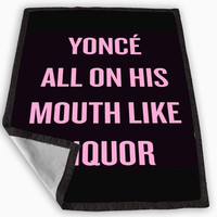 Yonce Remix Beyonce Blanket for Kids Blanket, Fleece Blanket Cute and Awesome Blanket for your bedding, Blanket fleece *