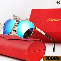 Cartier Fashion New Polarized Drive Leisure Glasses Eyeglasses Men 4#