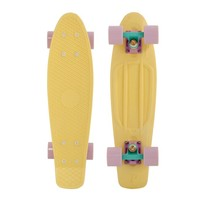 """Penny 22"""" Pastels Yellow/Lilac-Blue/Lilac Mini Longboard Complete"""