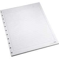 M by Staples™ Arc System Ruled Premium Refill Paper, White, 8-1/2