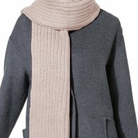 Women Men Winter Thick Cable Knit Wrap Chunky Warm Scarf All Colors