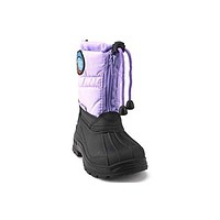 Girls BHD-10I Toddlers Two Tone Fur Lined Winter Snow Boots