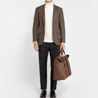 Gucci - Large Full-Grain Leather Holdall | MR PORTER