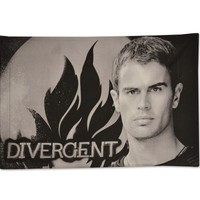 "Divergent Movie ""Four Face your Worst Fears"" Pillowcase"