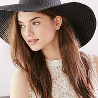 Floppy Wide-Brim Straw Hat