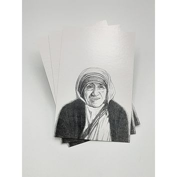 Mother Teresa Postcard