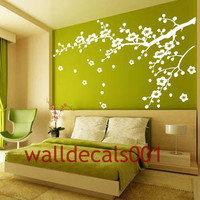 Vinyl Wall Decals wall stickers tree decal flower decal baby decal nursery decal wall decor room decor wall art-Cherry Blossom decals