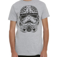 Star Wars Stormtrooper Sugar Skull T-Shirt