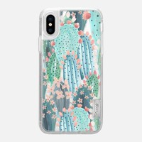 Casetify iPhone X Classic Grip Case - Cacti by Chloe Hall
