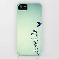 s  m  i  l  e  iPhone Case by Rubybirdie | Society6